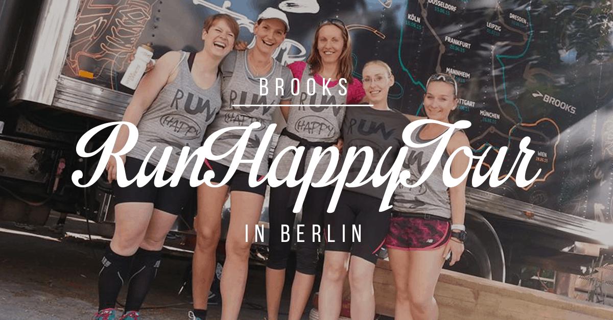 Brooks Run Happy Tour Berlin