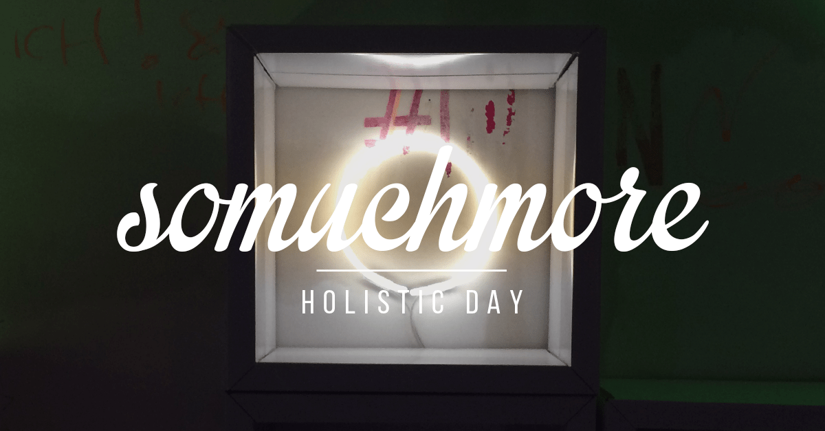 Teaser somuchmore Holistic Day in Berlin