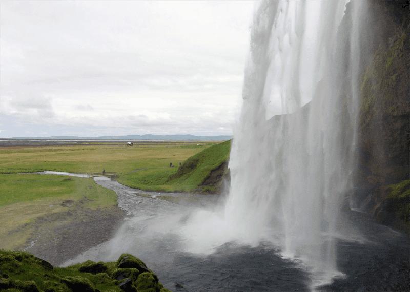Islands schönster Wasserfall