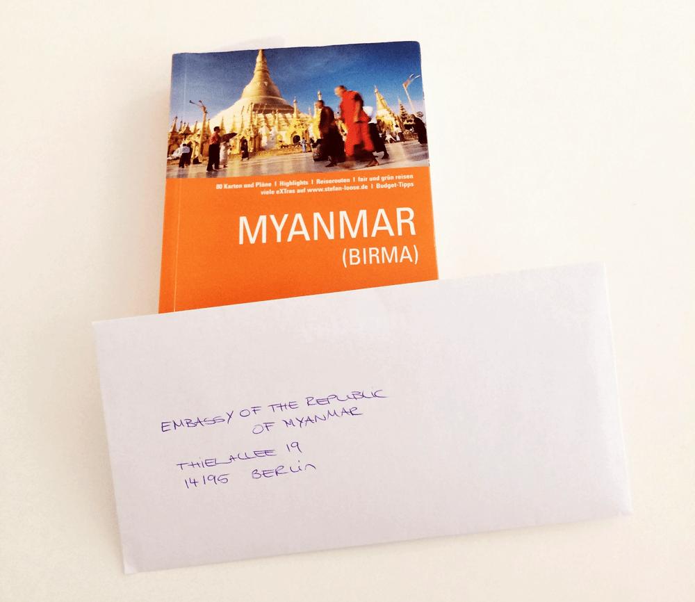 Visum für Myanmar / Burma beantragen