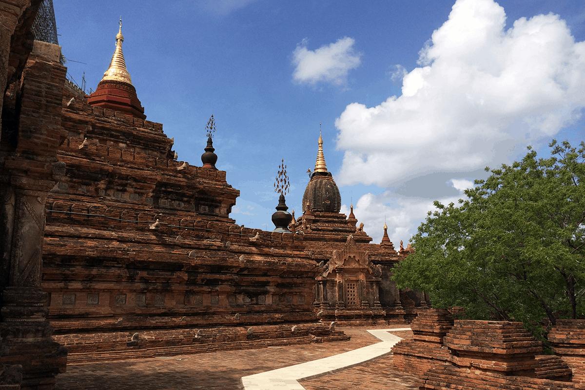 Tempelanlagen in Bagan