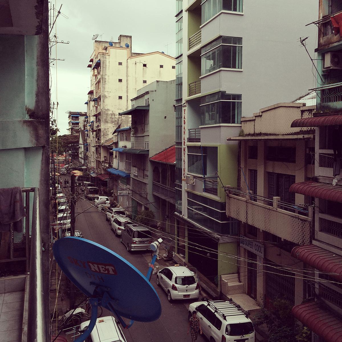 Hostel in Yangon