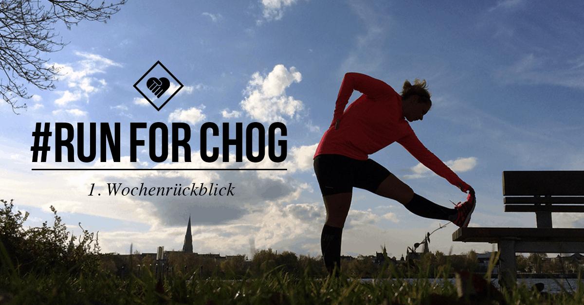 #RunForCHoG-Spendenlauf: Erste Woche