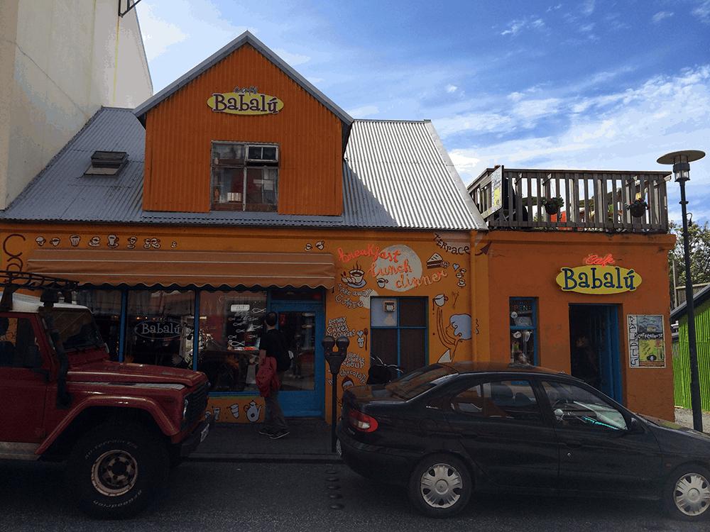 Island Vegan im Glo in Reyjavik Café Babalú