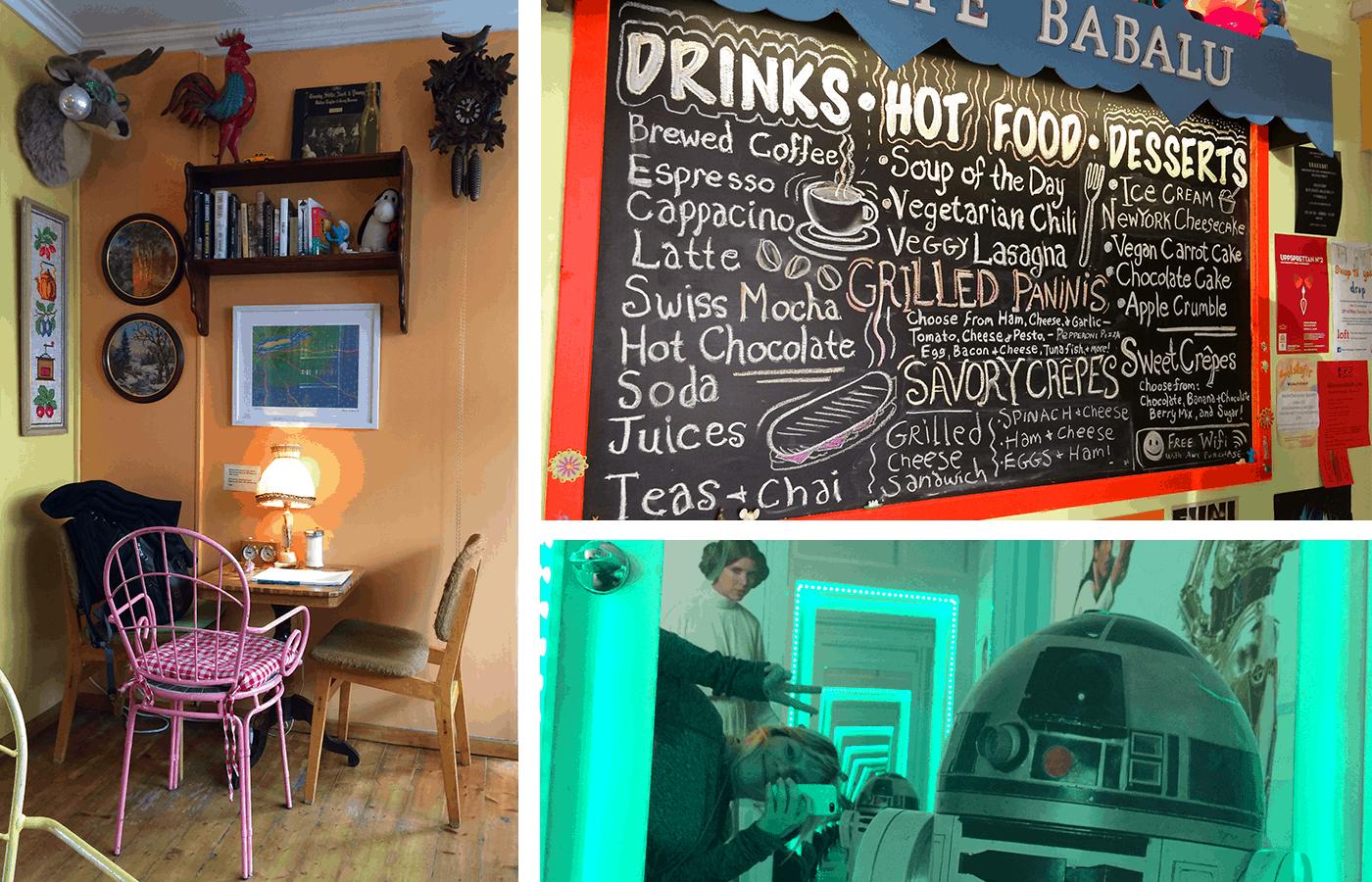 Island Vegan im Glo in Reyjavik Café Babalu