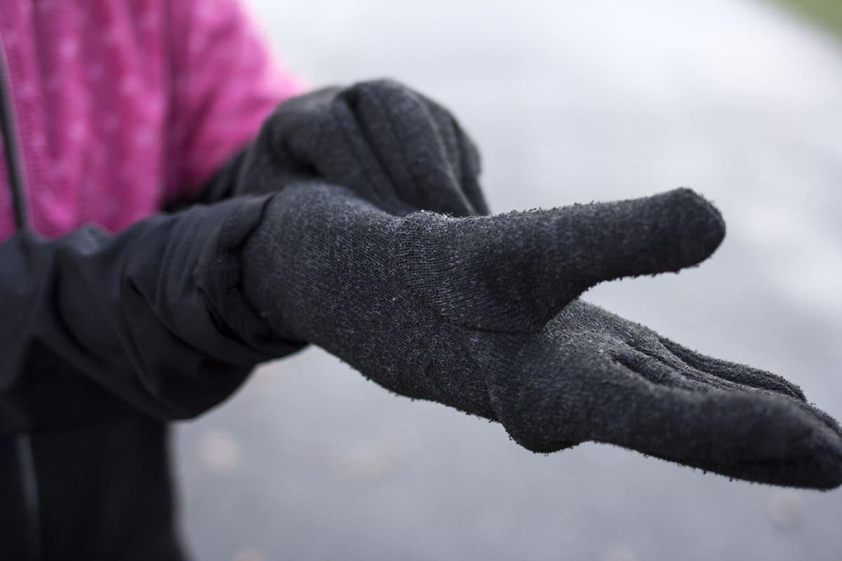 Laufbekleidung im Winter: Handschuhe