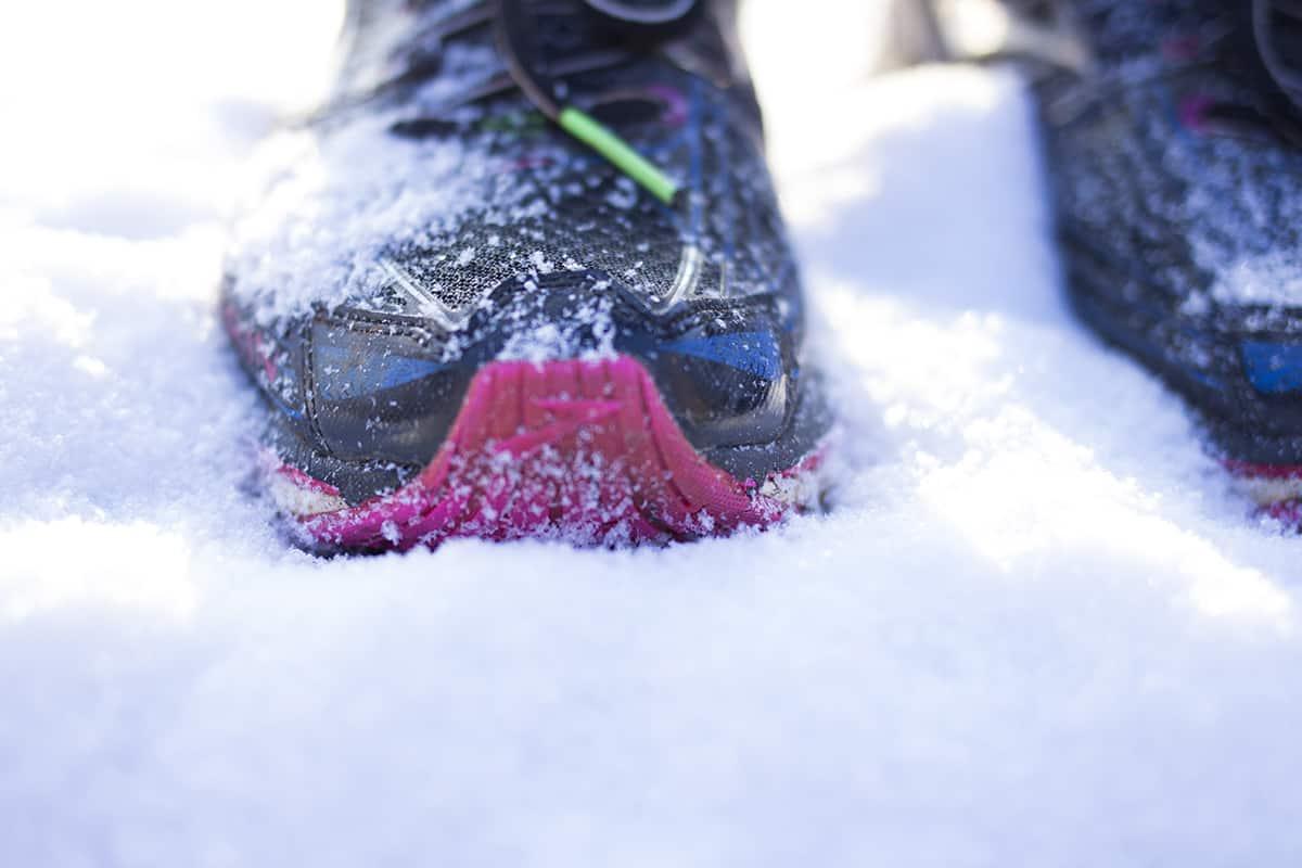 Laufbekleidung im Winter: Schuhe