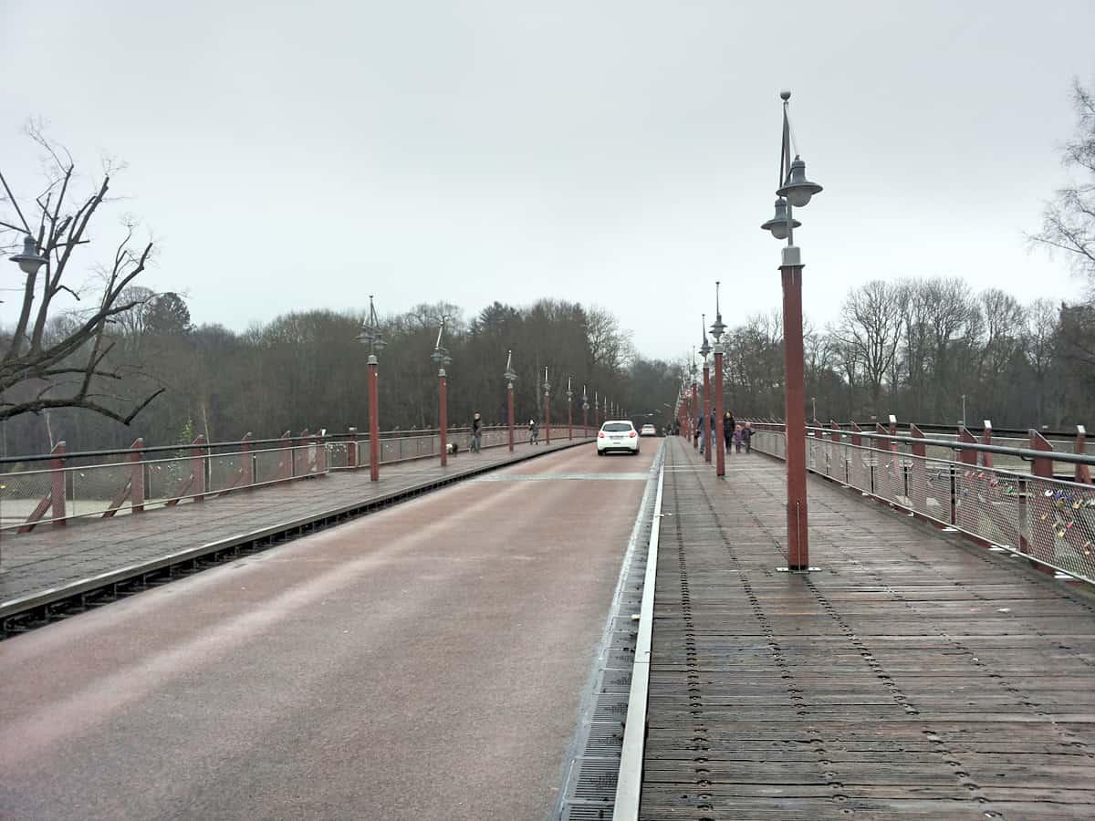 Los geht's von der Thalkirchner Brücke