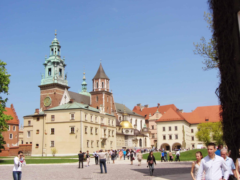 Schlossensemble auf der Burg Wawel