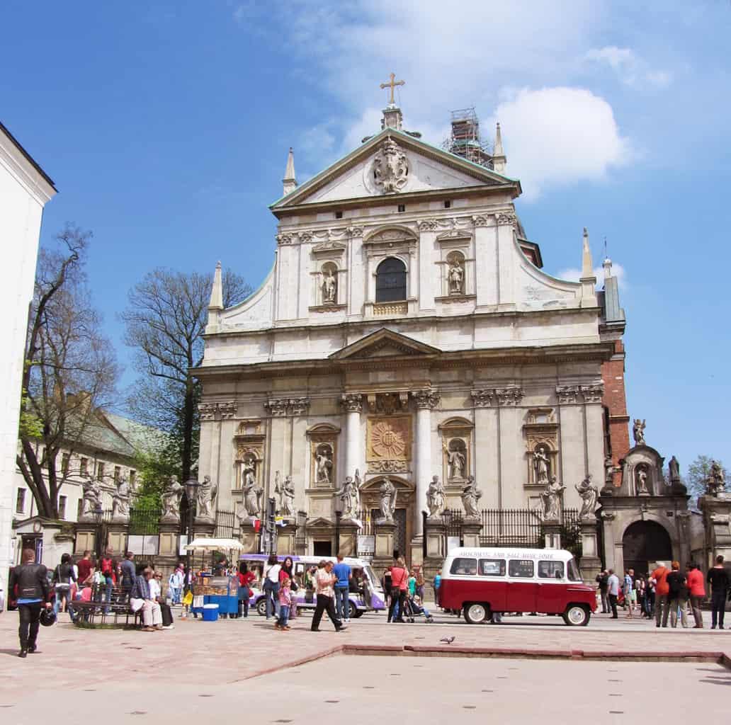 Kirche in der Krakauer Altstadt