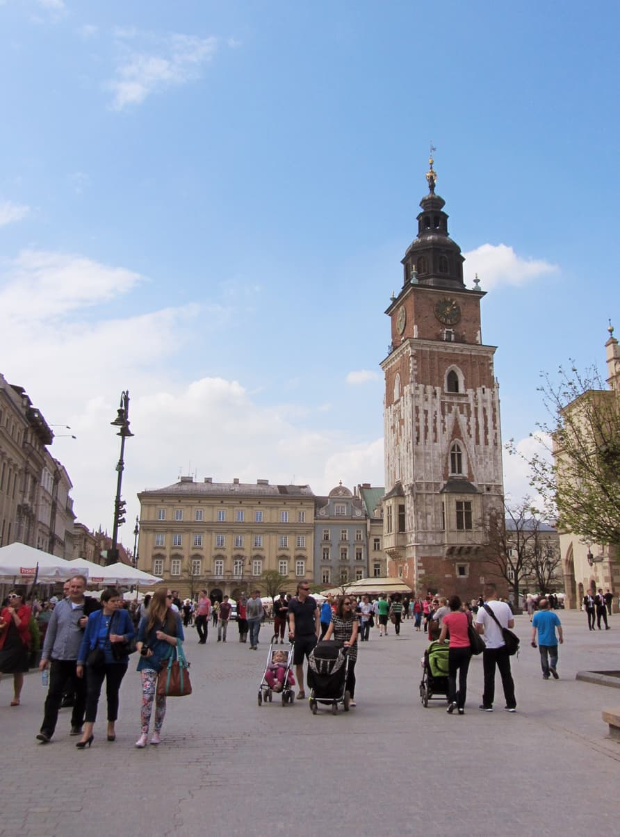 Mittelalterlicher Marktplatz Rynek Główny