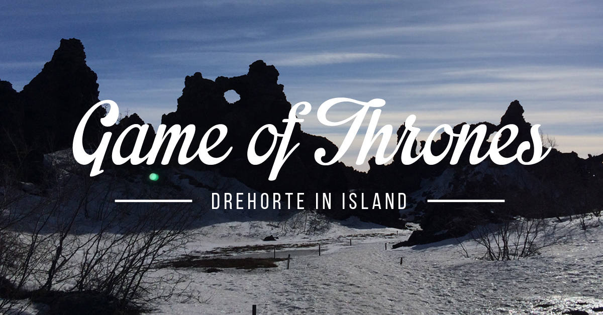 Drehorte Island Game of Thrones Teaser