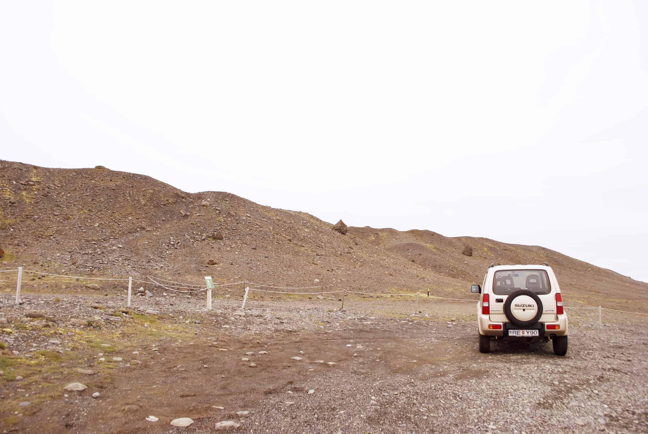 Roadtrip Island Mietwagen mit Allradantrieb
