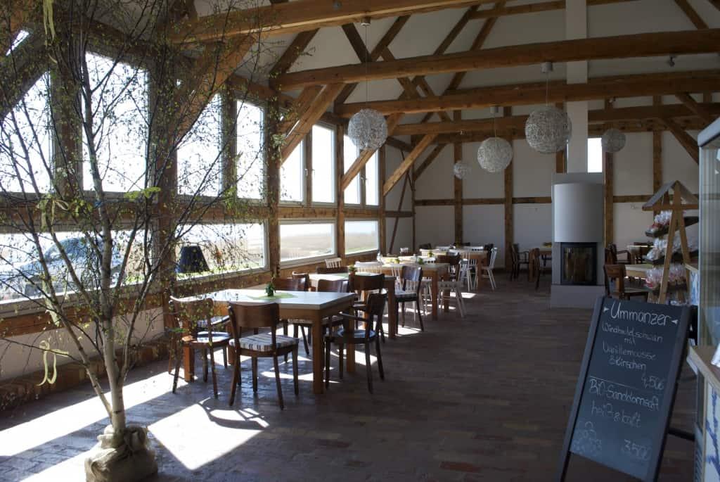 Innenraum Café Ummanz