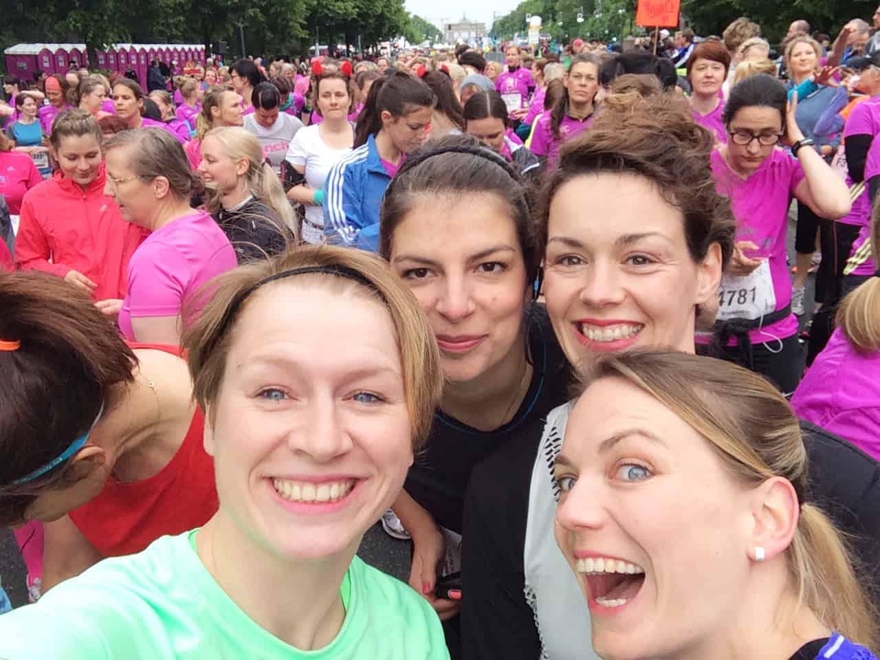 Frauenpower beim Avon Frauenlauf