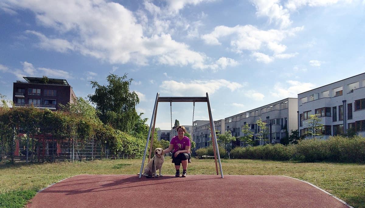 Laufen mit Hund macht Spass