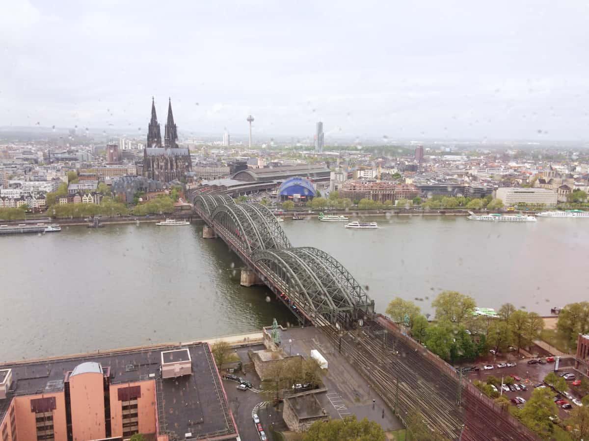 Städtetrip: Blick auf den Kölner Dom