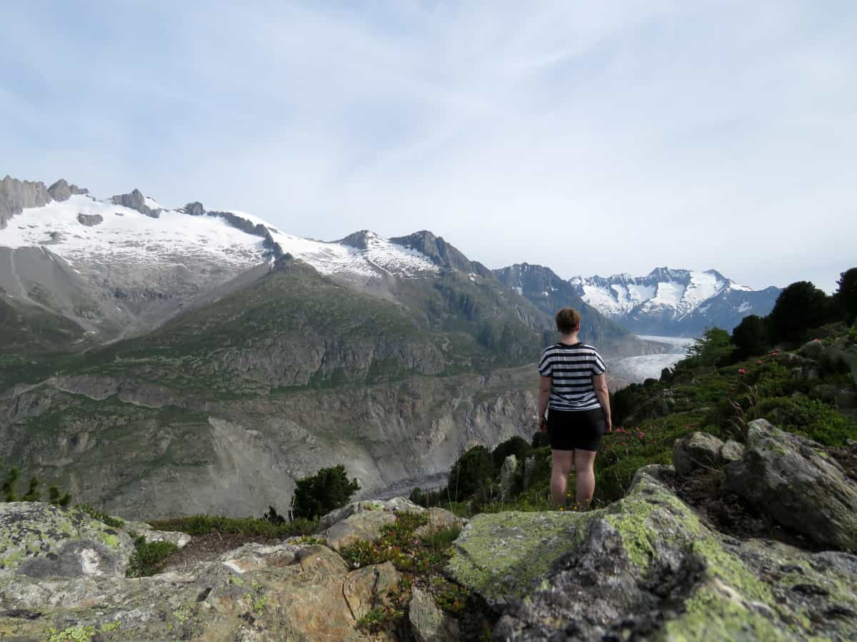 Gletschertour auf dem Aletschgletscher