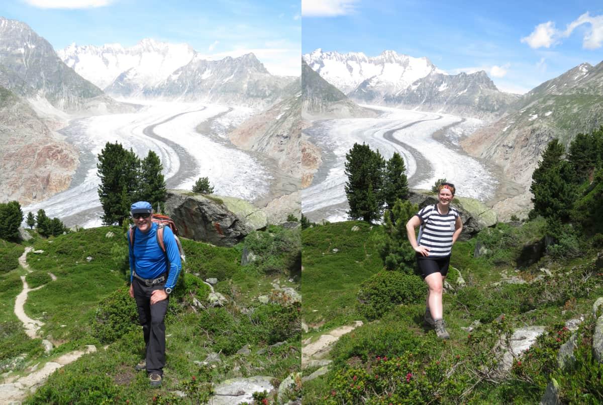 Na, wer post besser als Bergführer?