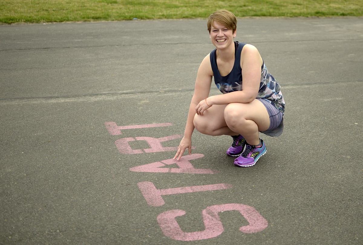 Laufen im Sommer: Mandy Jochmann, Go Girl! Run!