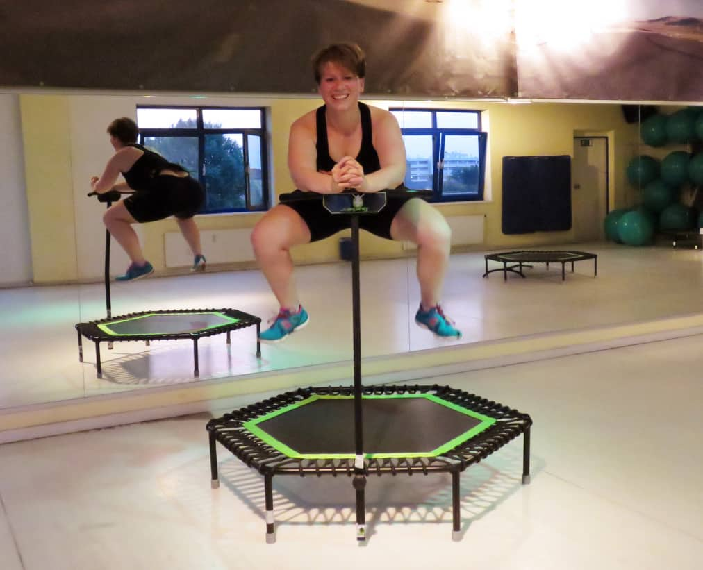 Jumping-Fitness-Kurs im Paramount Fitness Treptow