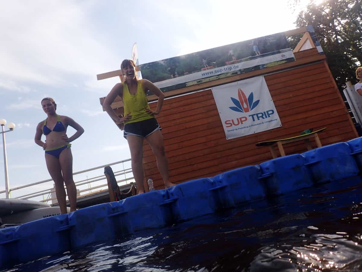 STAND UP PADDLING BEI SUP TRIP POTSDAM