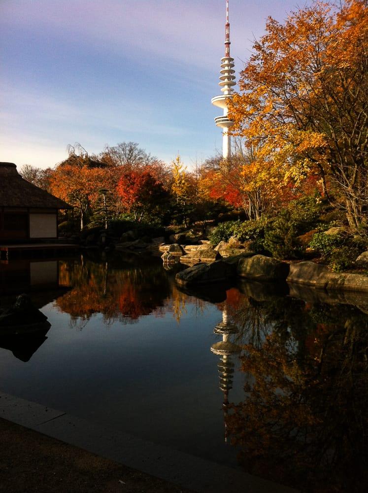 Laufen in Hamburg im Botanischen Garten