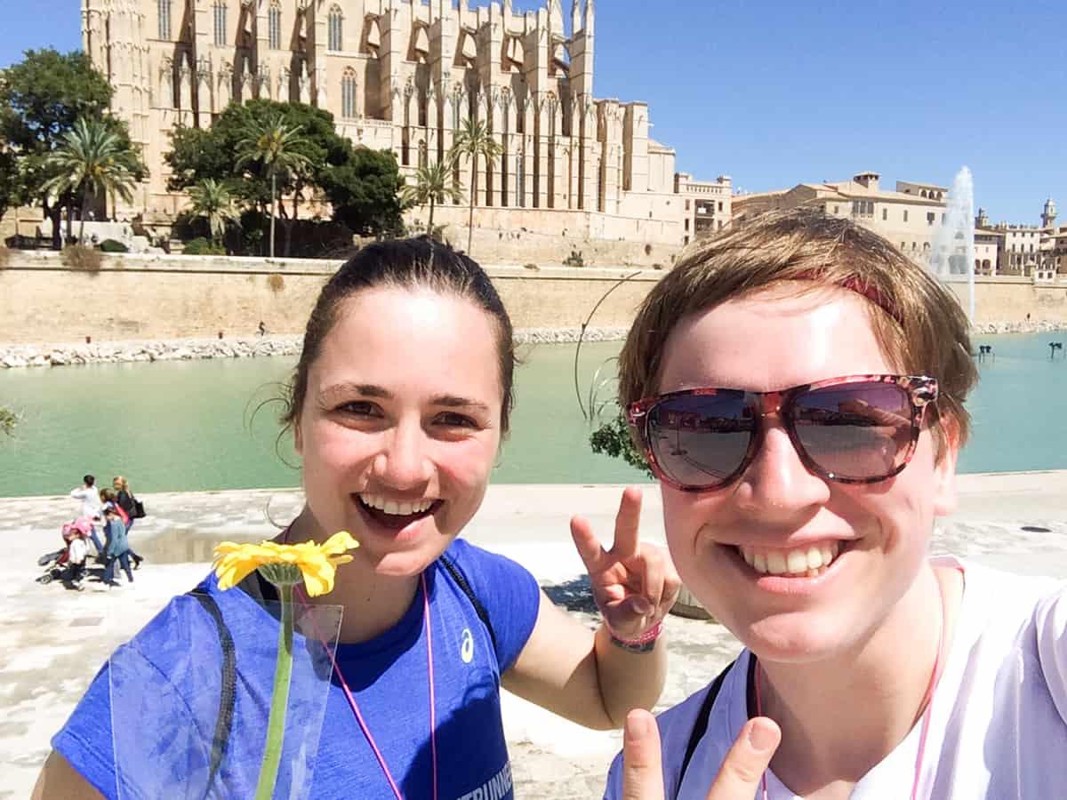 Mit Susi von Runskills beim 261 WM Mallorca
