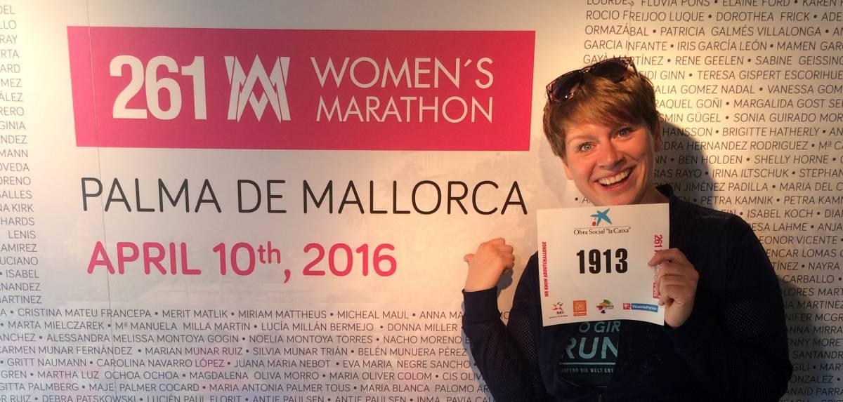 Wettkampfernährung beim 261 Women's Marathon
