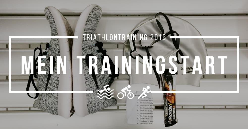 And so it begins: Triathlon-Training 2016