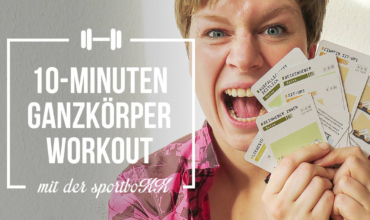 10-Minuten-Ganzkörper-Workout für Läufer*innen