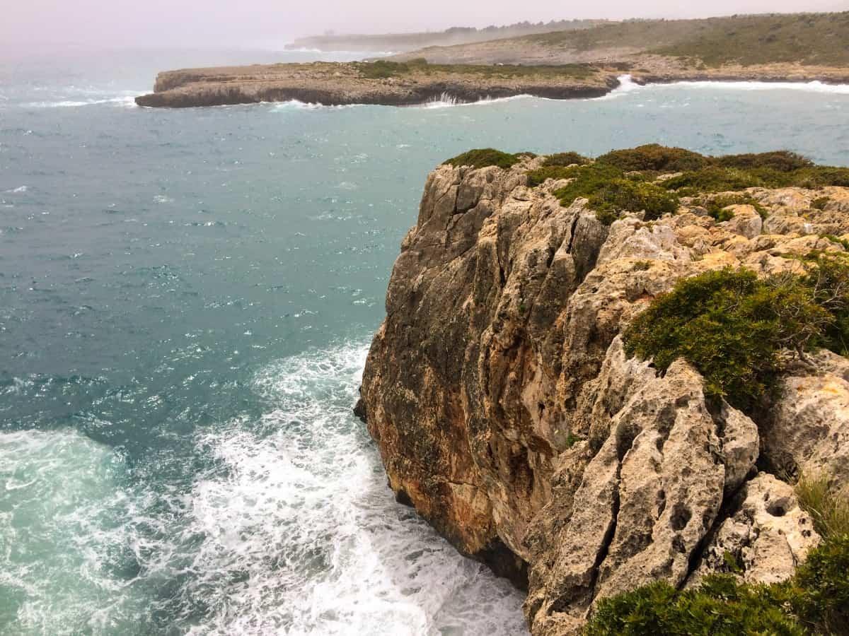 Küstenwanderung von Cala Romàntica zur Cala Varques