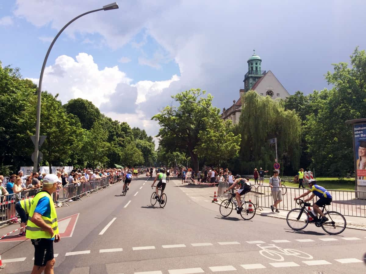Radrennen Berlin Triathlon