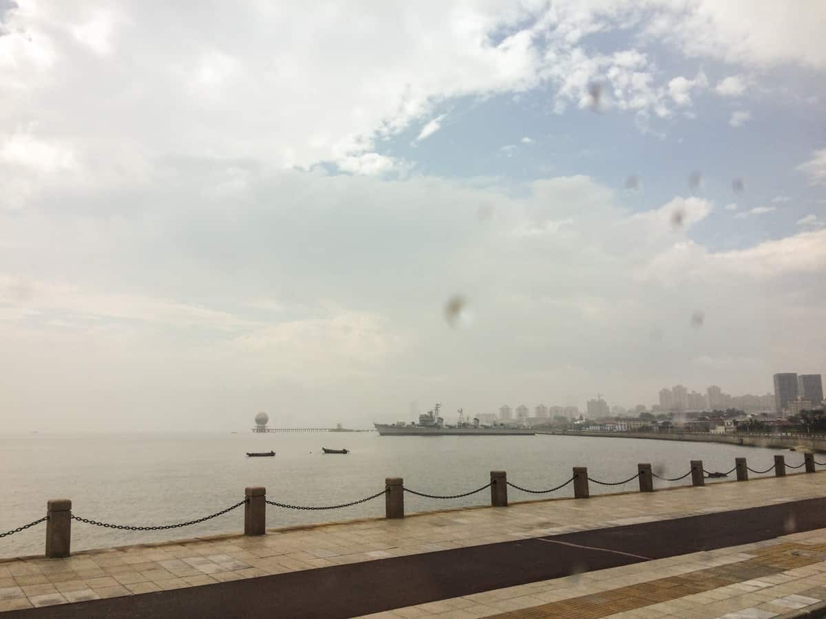 Die Küstenlinie der Stadt Yantai erstreckt sich auf über 900 Kilometer