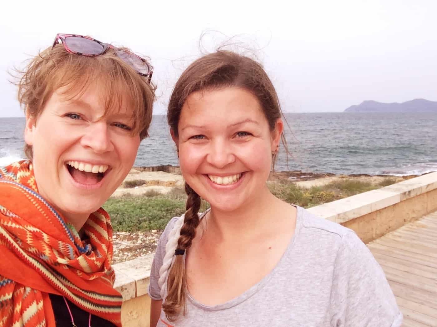 Maren von ichhasselaufen traf ich auf Mallorca