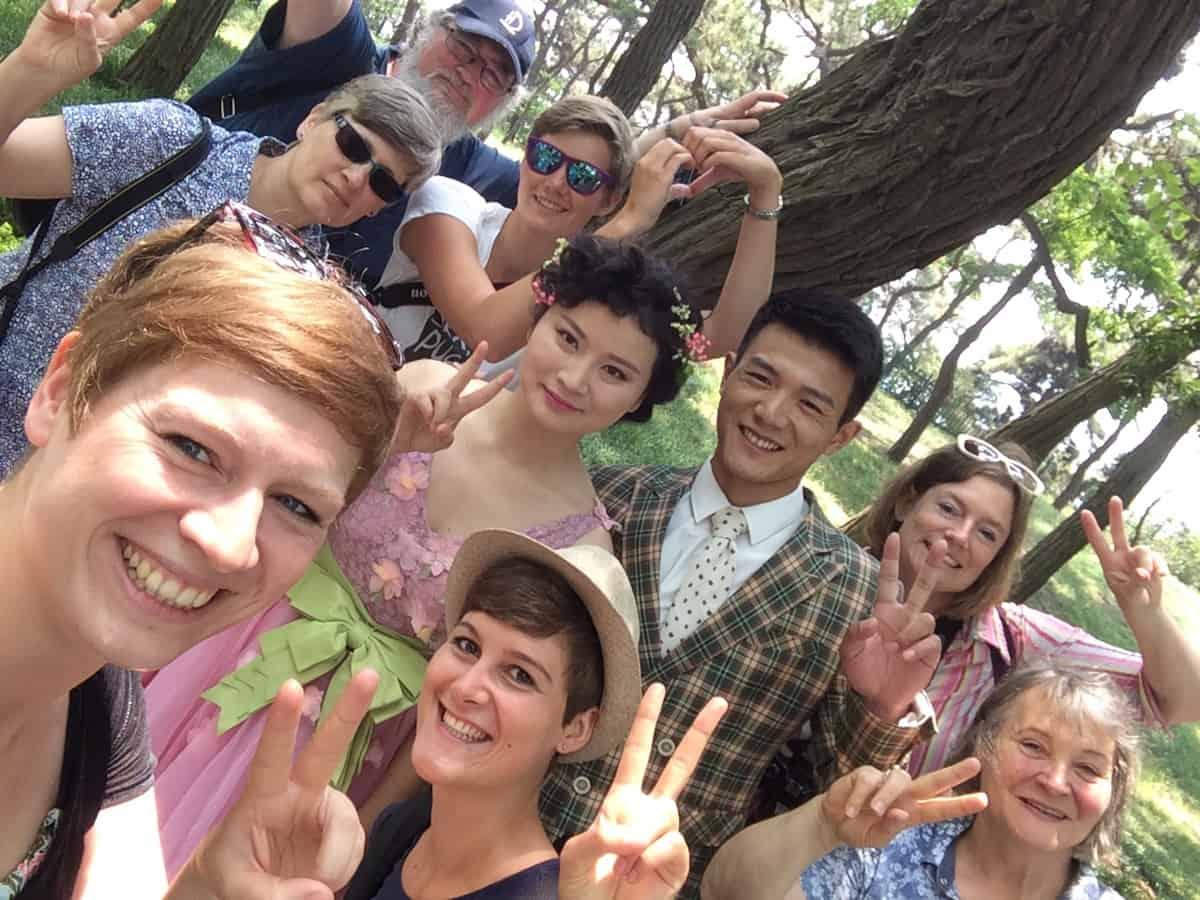 Hochzeitsfotografie in China