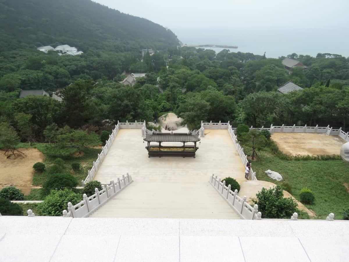 Ausblick Laoshan