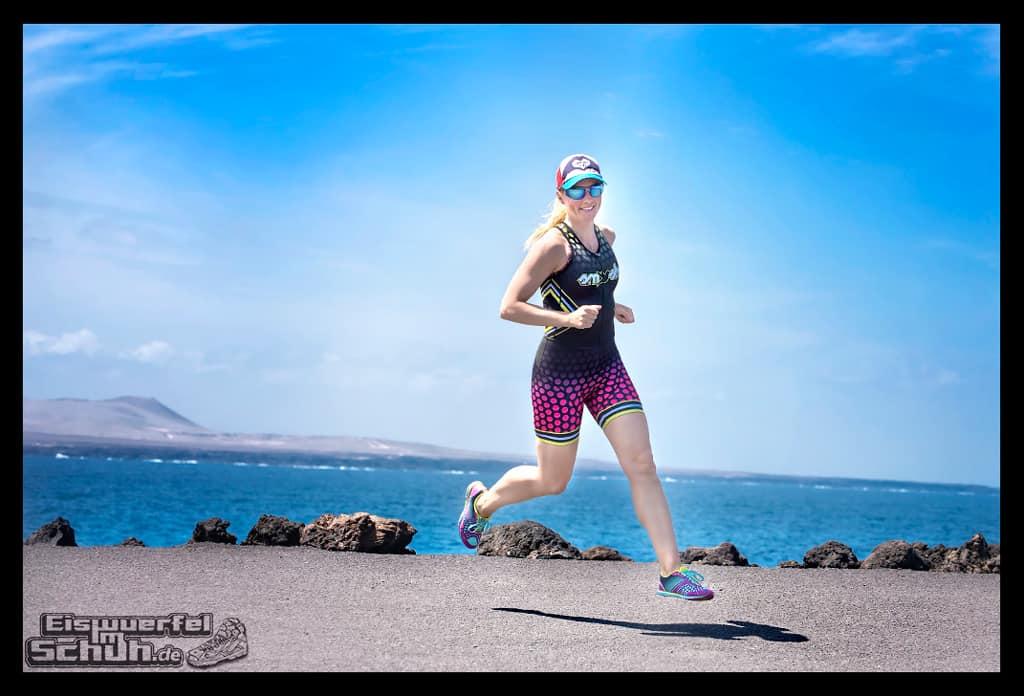 Nadin Eule-Mau von Eiswürfel im Schuh beim Lanzarote Triathlon Training