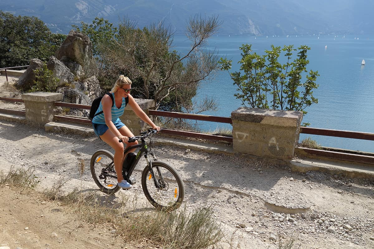 Mountainbiking am Gardasee