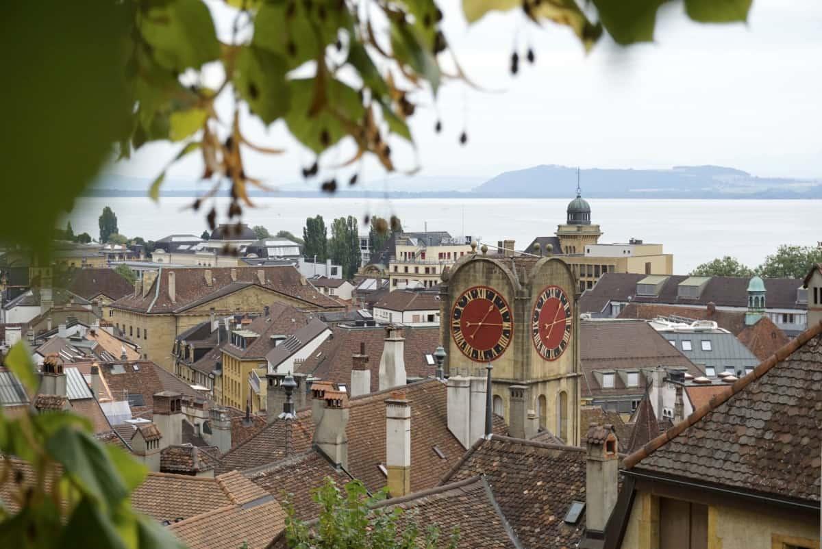 Ausblick auf Neuchâtel