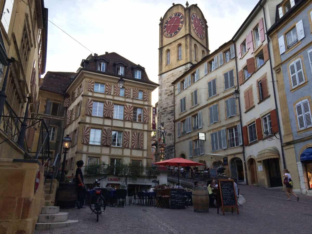 Platz in Neuchâtel