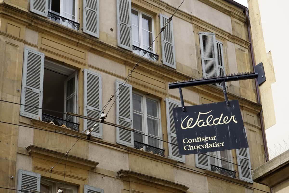 Chocolatier in Neuchâtel