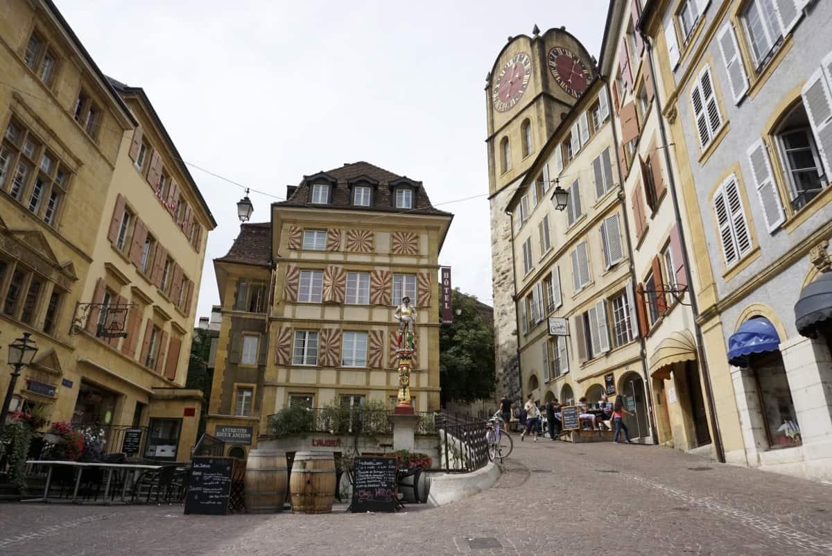 Creperie in Neuchâtel