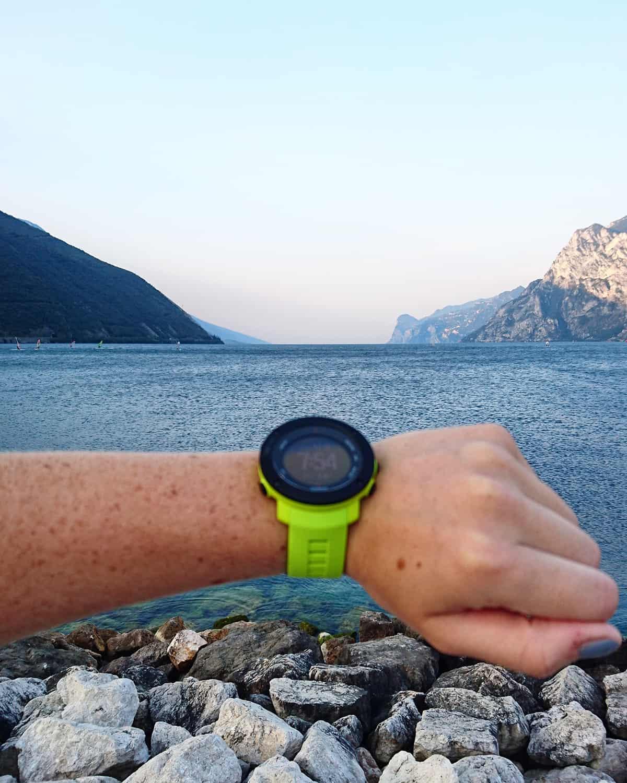 Laufen am Gardasee