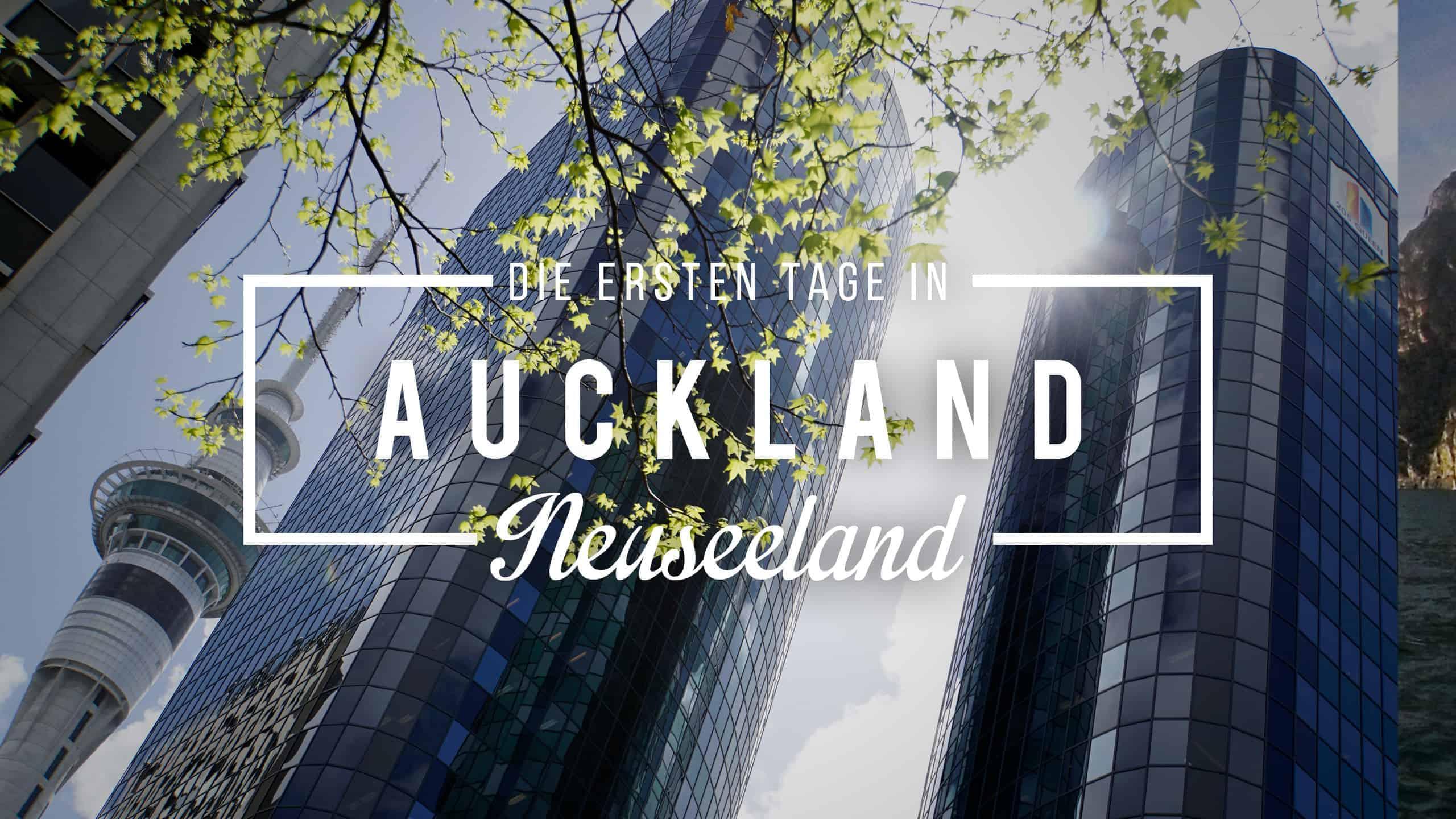 Roadtrip Neuseeland: Unsere ersten Tage in Neuseeland