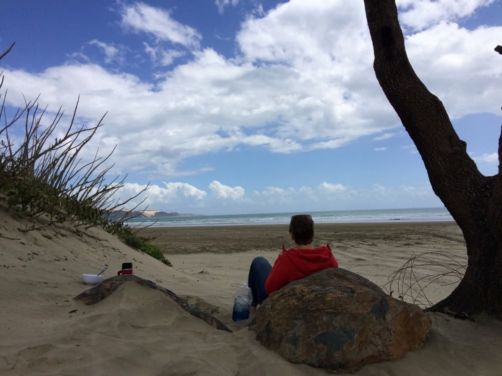 neuseeland-northland-ninety-mile-beach-lunch