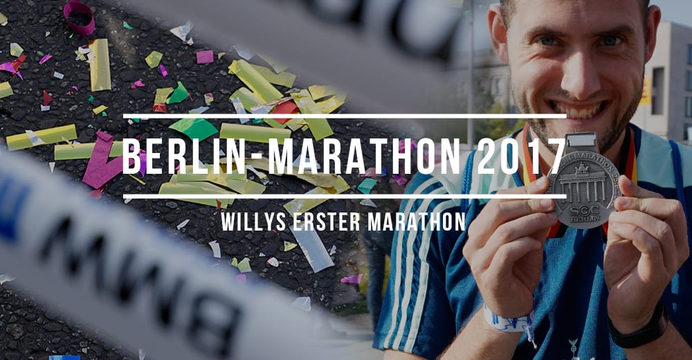 Rückblick: Willis erster Marathon