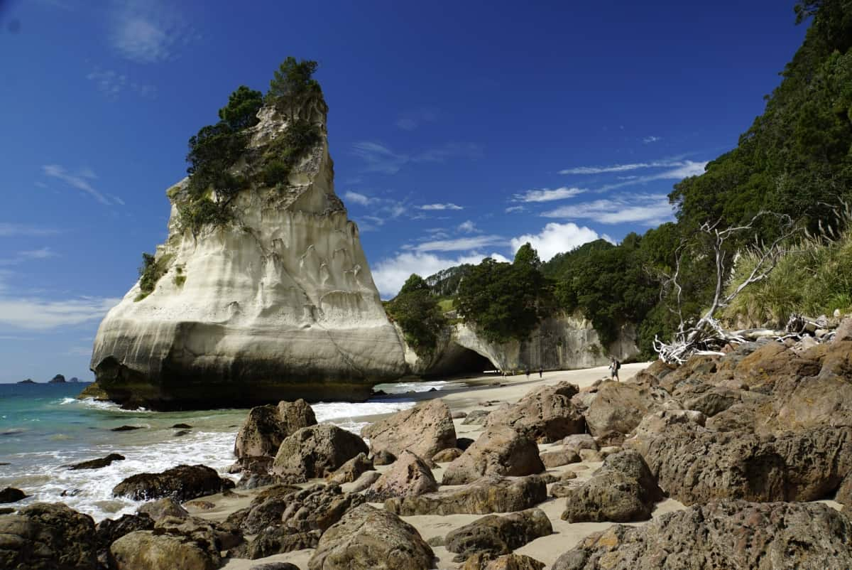 Cathedral Cove auf Coromandel