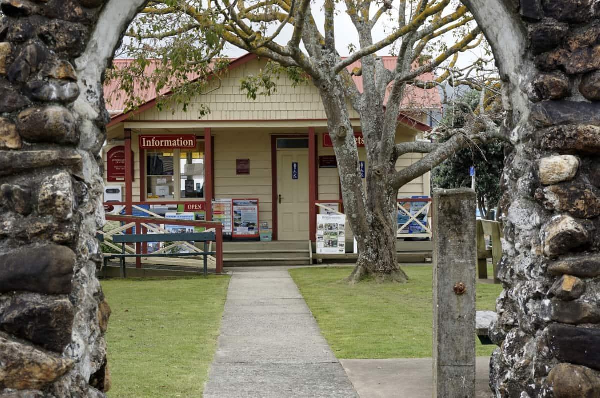 i-Site in Coromandel Town
