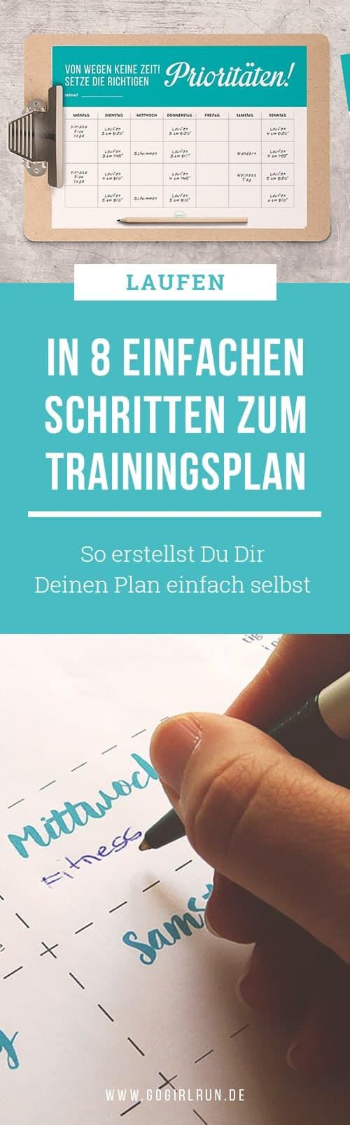 So erstellst Du Dir Deinen eigenen Lauf-Trainingsplan